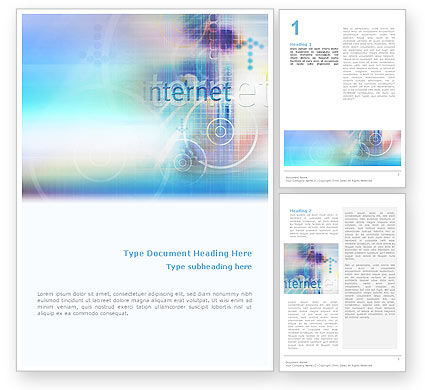 Abstract/Textures: Internet Space Word Template #02053