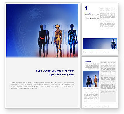 Medical: Systems of Body Word Template #02086