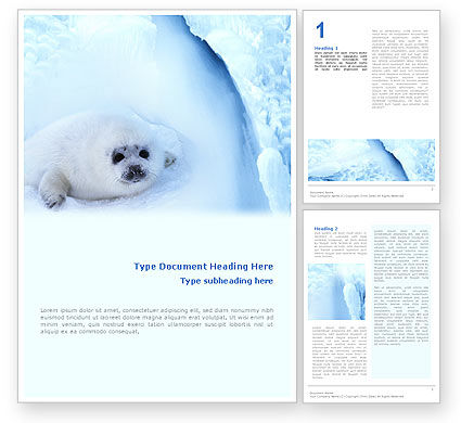 Agriculture and Animals: Fur-Seal Word Template #02230
