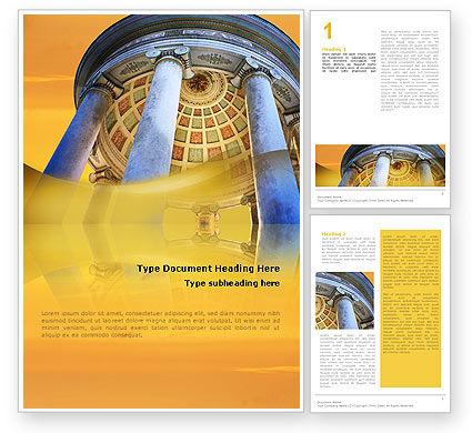 Construction: Modelo do Word - rotunda #02318