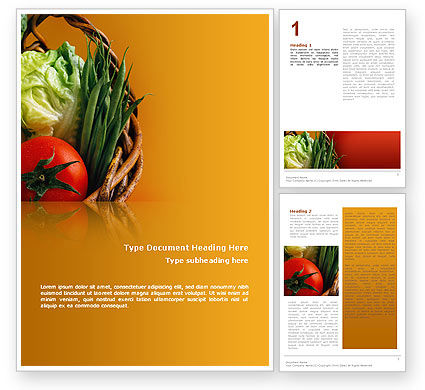Food & Beverage: Kruidenierswinkel Word Template #02427