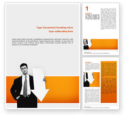 Consulting: Dissatisfaction Word Template #02542