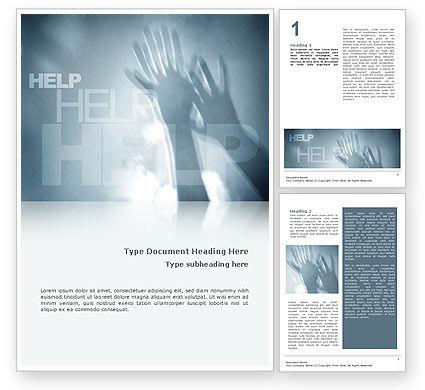 Religious/Spiritual: Plantilla de Word - ayuda #02584