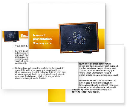 powerpoint templates for kids. PowerPoint Template, Kids