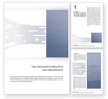 Telecommunication: Data Flow Word Template #02678