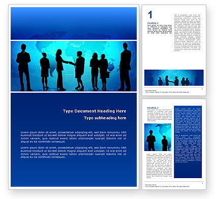 People: Contracting People Word Template #02686