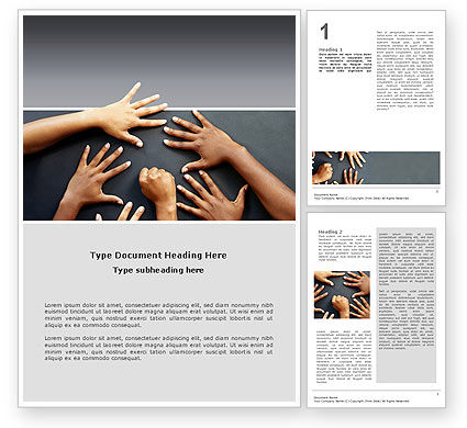 Diversity Word Template, 02689, Religious/Spiritual — PoweredTemplate.com