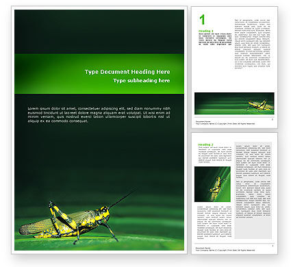 Abstract/Textures: Grasshopper Word Template #02690