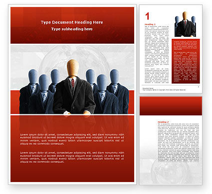 Boss Word Template, 02711, Careers/Industry — PoweredTemplate.com