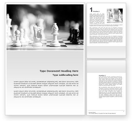 Sports: Strategic Position Word Template #02755