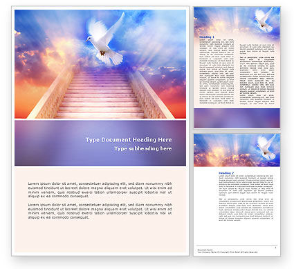 Holy Benediction Word Template