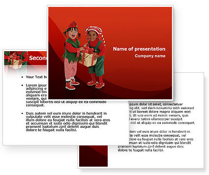 powerpoint templates for kids. Christmas Kids PowerPoint