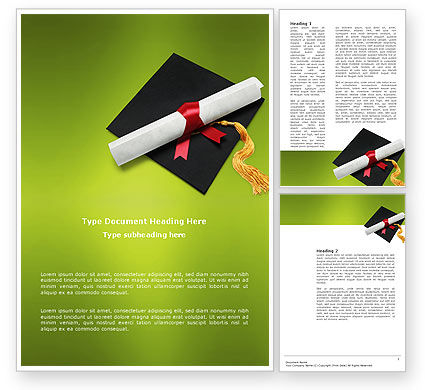 Certificate of Degree Word Template