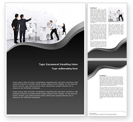 Business Concepts: Brainstorm Word Template #02856