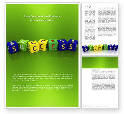 3D: Modelo do Word - sucesso #02869