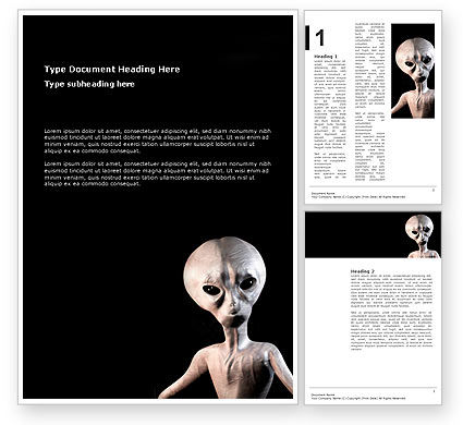 Technology, Science & Computers: Alien Word Template #02976