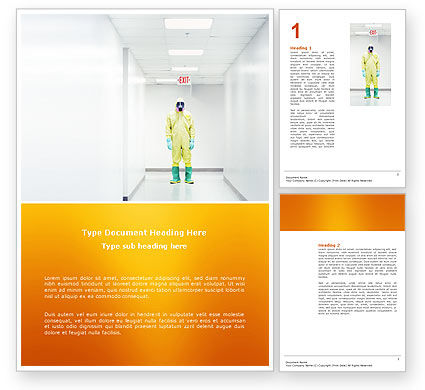 Chemical Contamination Word Template