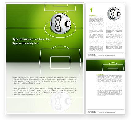 Sports: Modelo do Word - fifa #03090