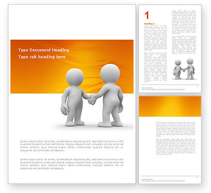 Understanding Word Template, 03131, Business — PoweredTemplate.com