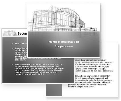 powerpoint template designer. Building Design PowerPoint