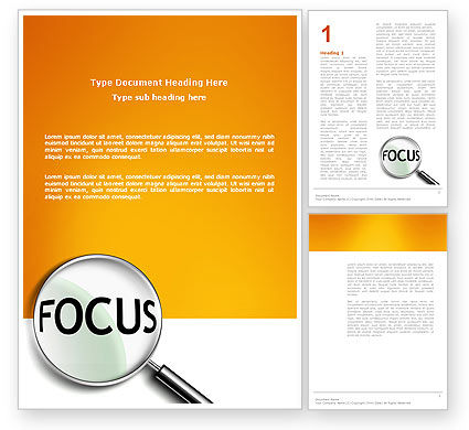 Abstract/Textures: Focus Word Template #03176