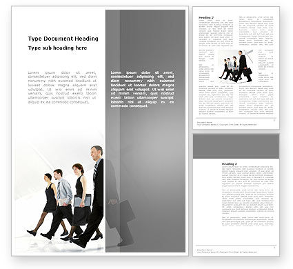 Career Opportunities Word Template, 03205, Careers/Industry — PoweredTemplate.com