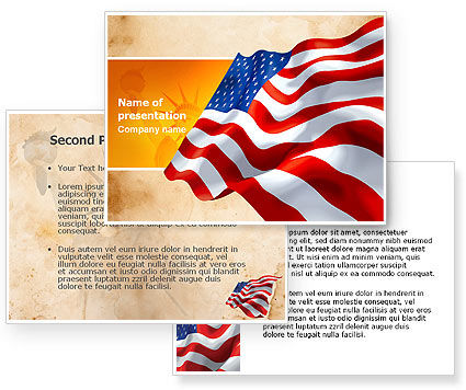 american flag background powerpoint. American Flag PowerPoint