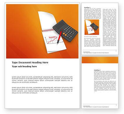 Financial/Accounting: Finanzanalytik Word Vorlage #03400