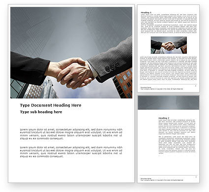 Business: Concord Word Template #03449
