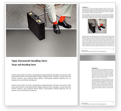 Business: 워드 템플릿 - 대기 기회 #03515