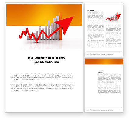 Raising Rates Word Template, 03571, Business Concepts — PoweredTemplate.com