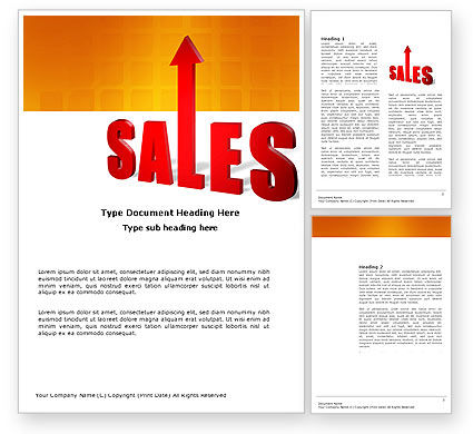 Business: Sales Word Template #03579