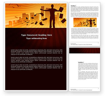 Business: Feeling Word Template #03649