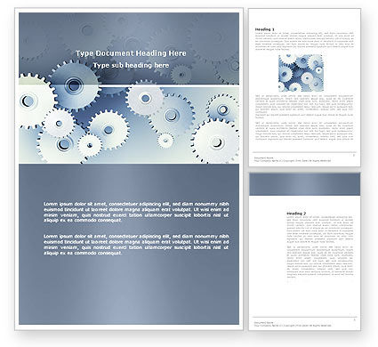 Business Concepts: Details Word Template #03677