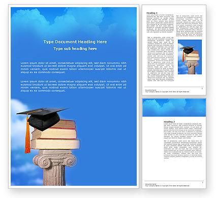 Education & Training: Modelo do Word - formação universitária #03680