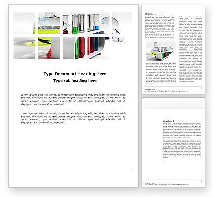 Vessels Word Template, 03735, Technology, Science & Computers — PoweredTemplate.com