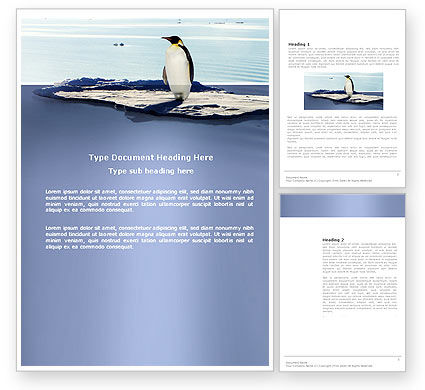 Agriculture and Animals: Penguin Word Template #03751