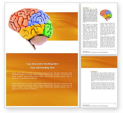 Cerebral Autoregulation Word Template, 03988, Medical — PoweredTemplate.com