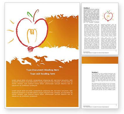 Comprehension Word Template, 04016, Business Concepts — PoweredTemplate.com