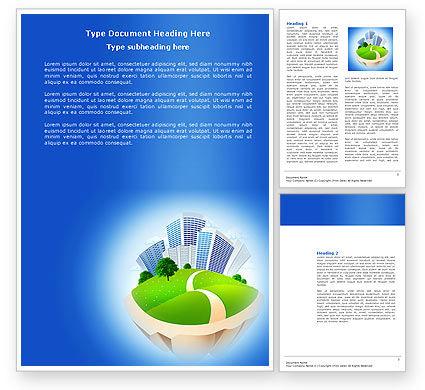 Housing Problem Word Template, 04039, Construction — PoweredTemplate.com