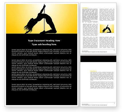Art & Entertainment: Striptease Word Template #04112