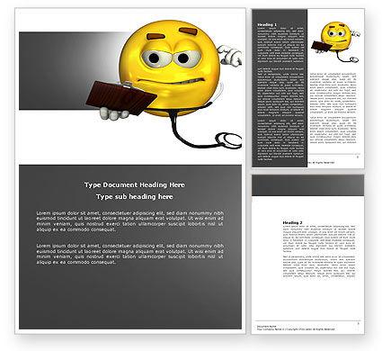 Diagnostics Word Template, 04133, Medical — PoweredTemplate.com