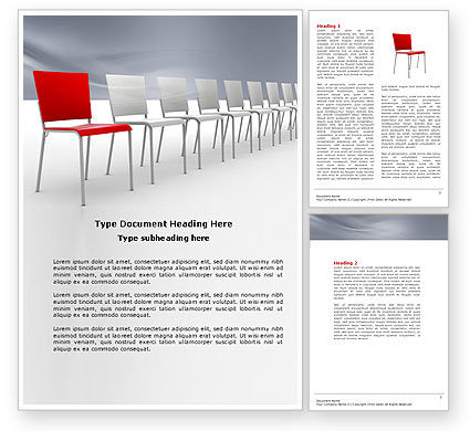 Distinguishing Word Template, 04206, Business Concepts — PoweredTemplate.com