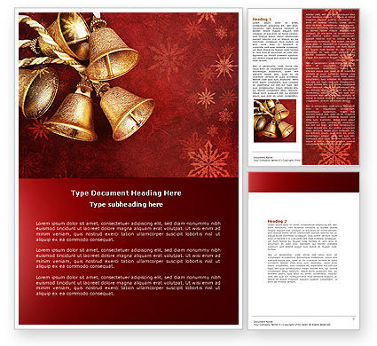 Christmas Word Templates Design Download Now Poweredtemplate Com