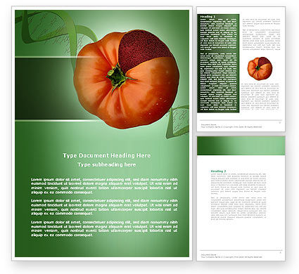 Genetically Modified Foods Word Template, 04290, Technology, Science & Computers — PoweredTemplate.com