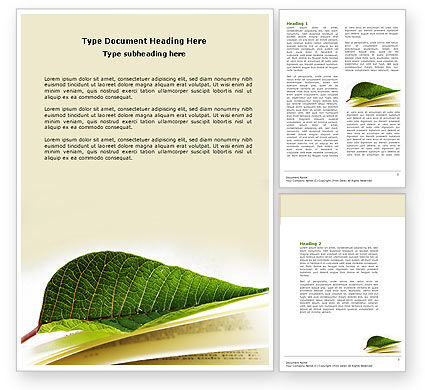 Education & Training: Publishing Word Template #04304
