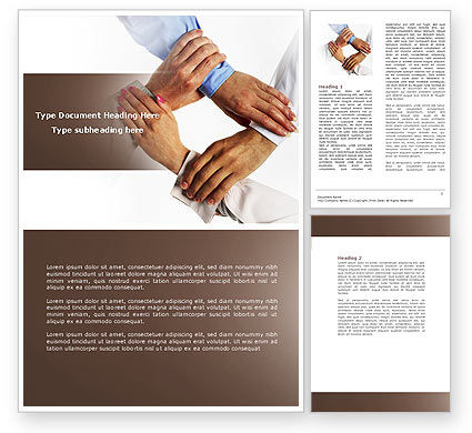 Mutual Responsibility Word Template, 04311, Consulting — PoweredTemplate.com