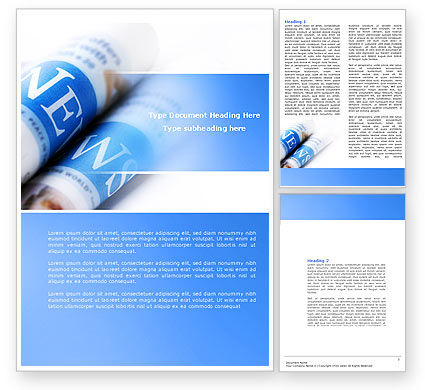 new press letterhead template layout for microsoft word adobe