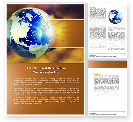 Global: Modelo do Word - mundo problemático #04349