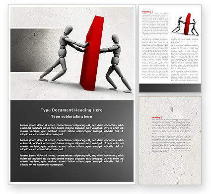 Resistance Word Template, 04366, Business Concepts — PoweredTemplate.com